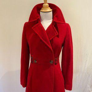 Mexx Red Pea Coat